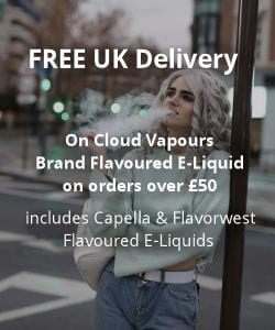 Free Delivery on orders over £50 on some products